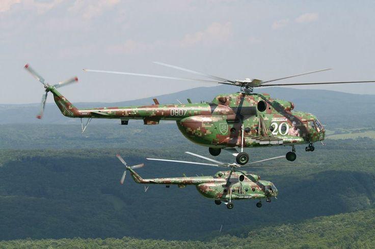 Slovak Mi 8 / 17 in digital camo