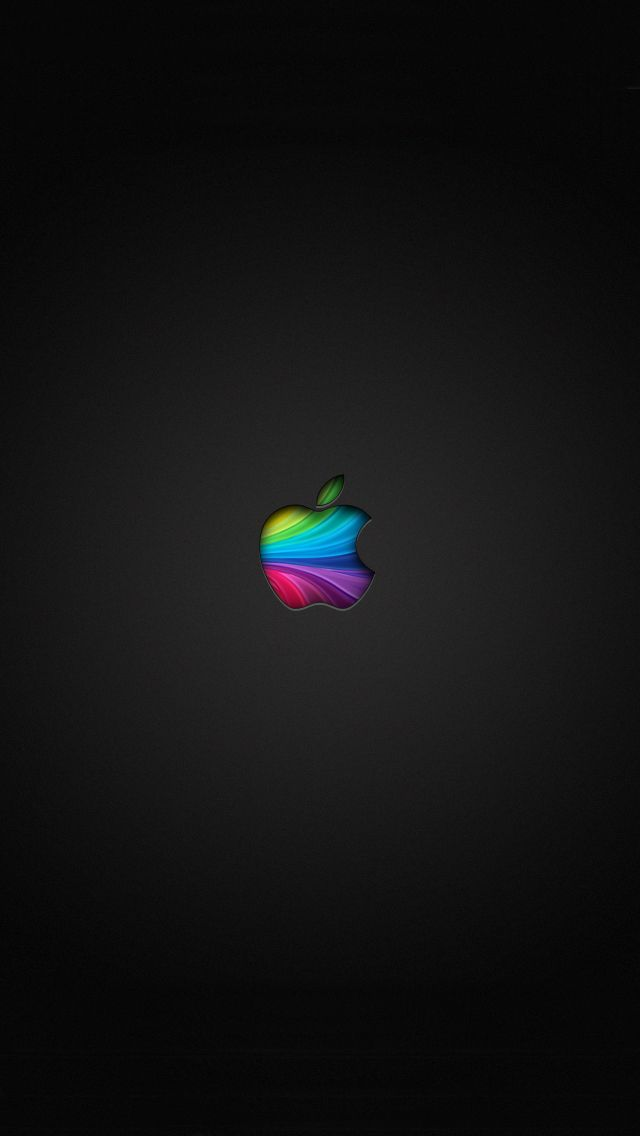 Rainbow Apple Wallpaper                                                                                                                                                     More