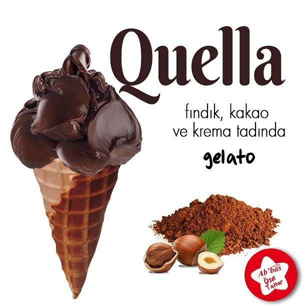 Abbas Waffle'da yepyeni bir İtalyan: Quella! Fındık ve kakao kremalarının bu eşsiz uyumunu denemelisiniz! #AbbasWaffleAnkara #AbbasGelato #Quella