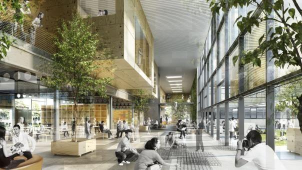 Denmarks Technical University by Christensen & Co Arkitekter