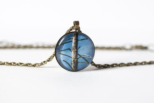 Naszyjnik z samotnym drzewem/Lonely Tree Necklace