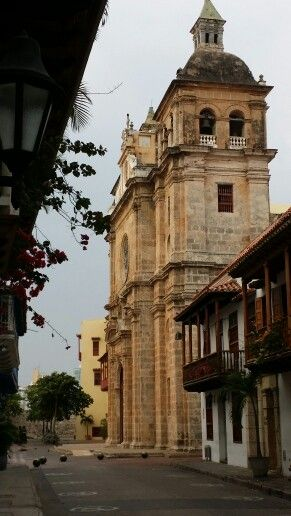Calles en Cartagena
