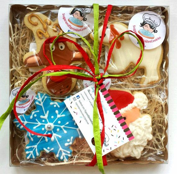 Christmas Cookies / Biscuit Gift Box