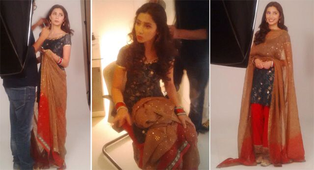 Mahira khan in her new movie Bin Roye