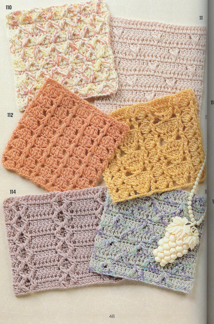 crochet puntos calados more crochet knitting crochet ideas crochet ...