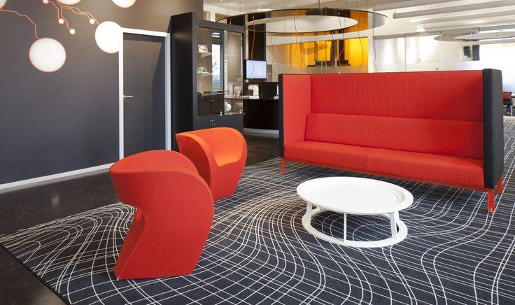 HMC Rotterdam, Netherlands.  #Carpet by #egecarpets