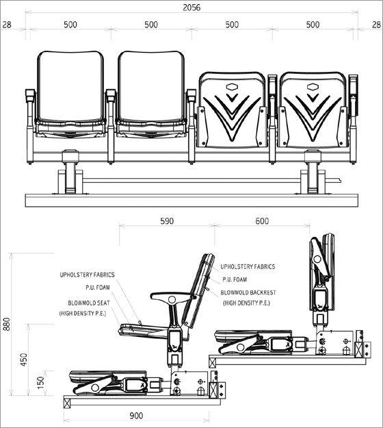 retractable auditorium seating - Google Search