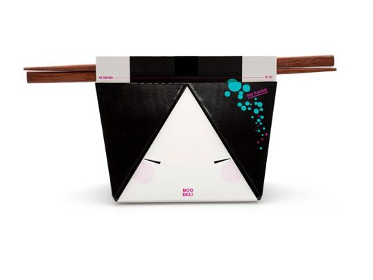 Swedish design student  Helen Maria Bäckström design this cute Japanese packaging called Noo-Del. Inspired by the Japanese Geisha which is commonly seen with hairpins in here hair. Helen used the Geisha features effectively to create is absolutely awesome idea. via lovelypackage
