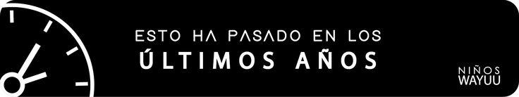 Conoce lo que ha pasado con la Tribu Wayuu en los últimos 6 años. A partir del 2011 (Facebook   @NinosWayuu.Ellosnecesitanayuda) 2012 (YouTube: NIÑOS WAYUU Ellos Necesitan Nuestra Ayuda) 2013  http://ninoswayuu.wixsite.com/ellosnecesitanayuda/portafolio?lightbox=dataItem-iggdr0pz2  . 2014 (YouTube: NIÑOS WAYUU Ellos Necesitan Nuestra Ayuda) 2015: https://es.pinterest.com/pin/499829258628766865/  . 2016: Instala nuestra App Niños Wayuu, disponible en Google Play
