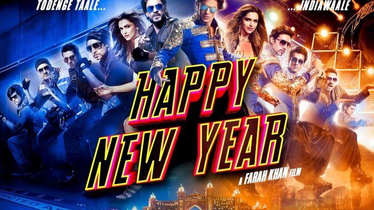 Shahrukh Happy New Year Movie Poster HD Wallpaper Free http://bit.ly/1t74K6x