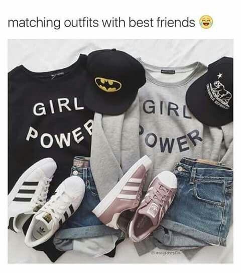 Ootd Match with your best friend ❤ <li id=