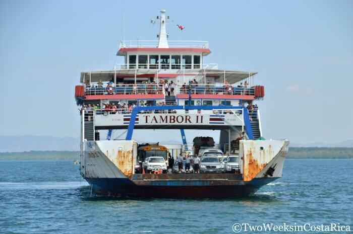 Taking the Puntarenas-Paquera Ferry   Two Weeks in Costa Rica