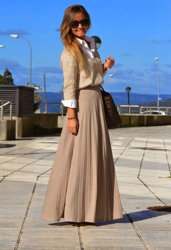 Increíbles faldas de temporada | Especial para los días frios | Vestidos | Moda 2014 - 2015