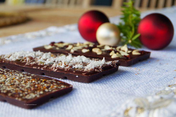 Geschenke aus der Küche #2 – selbstgemachte Schokolade | GO GREEN EAT CLEAN