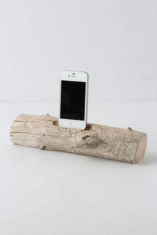 Driftwood iDock $98.......(Need this in a Pine Log for the Cabin)