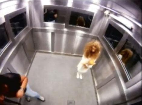 Funny Stuff! An elevator ghost prank in brazil