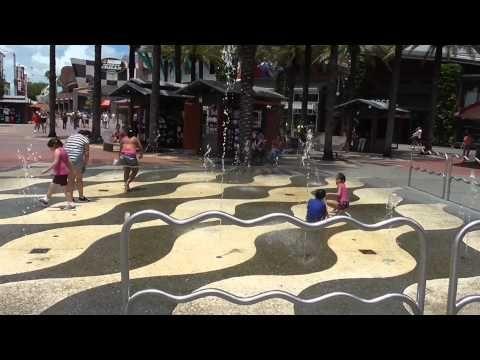 CityWalk Kids Water Sprays - Universal Studios Orlando, Florida - Best Orlando Vacation Packages