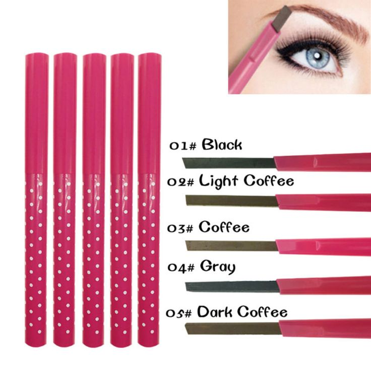 1 PCS Waterproof Longlasting permanent eyebrow pencil Eye Brow Liner Powder eye liner shadow eyebrow enhancer Makeup Tools acces