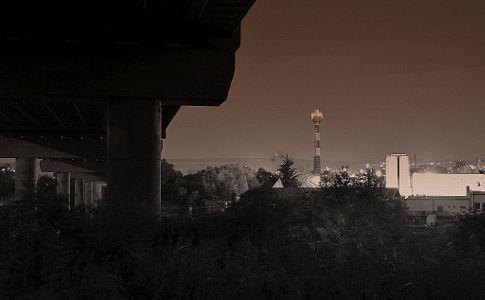 Chimney, industry by Adéla Kosová