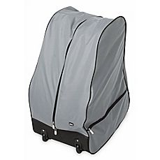 Image Of ChiccoR Universal Car Seat Travel Bag With Wheels In Grey