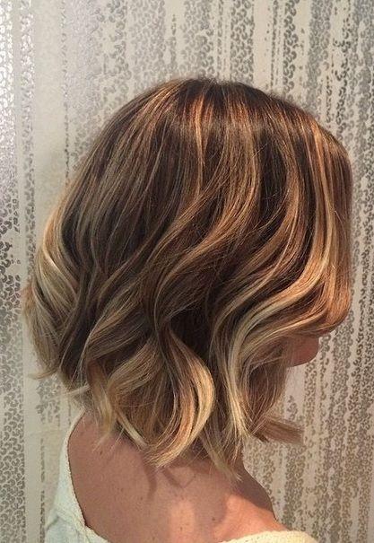 Blonde Bronde Ombre On Short Hair Hair Color Hair Short Hair
