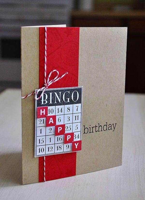 Marvelous 35 Easy Amp Last Minute Diy Birthday Cards Anyone Can Make Funny Birthday Cards Online Amentibdeldamsfinfo