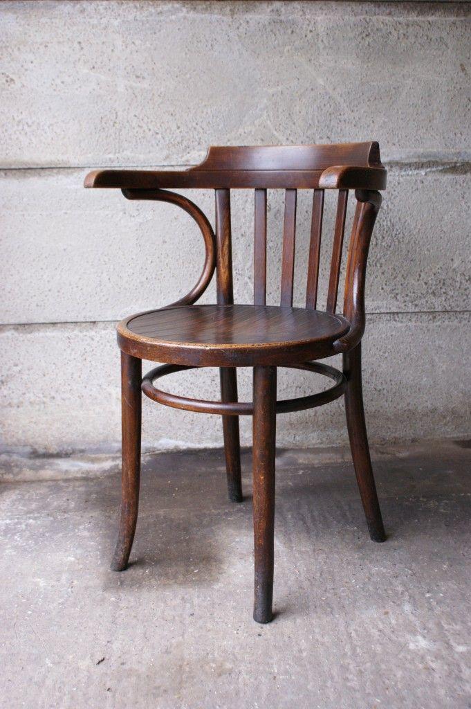 thonet furniture thonet elbow chair dark wood