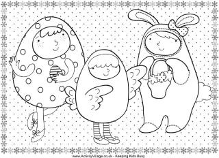 activity village coloring pages easter religious | Loads of free Easter colouring pages | Activity Village ...