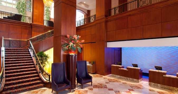 Hilton Charlotte Center City Hotel, Charlotte, NC - Hotel Lobby