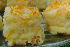 Wilgotne ciasto pomaranczowe