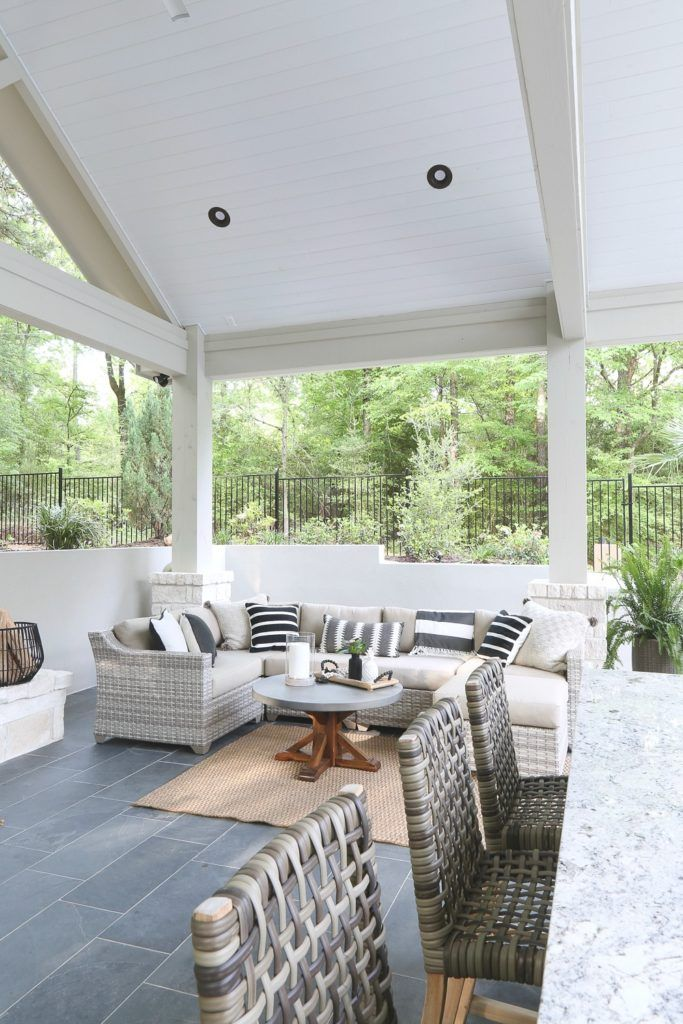 Outdoor Kitchen And Pool House Project Reveal Outdoor Kitchen Design Layout Outdoor Kitchen Design Patio Furnishings