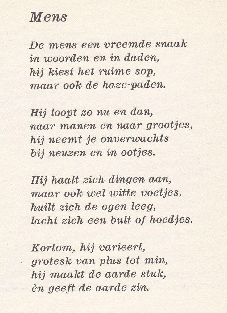 Citaten Van Bekende Dichters : Mens door toon hermans gedichten en verhalen pinterest