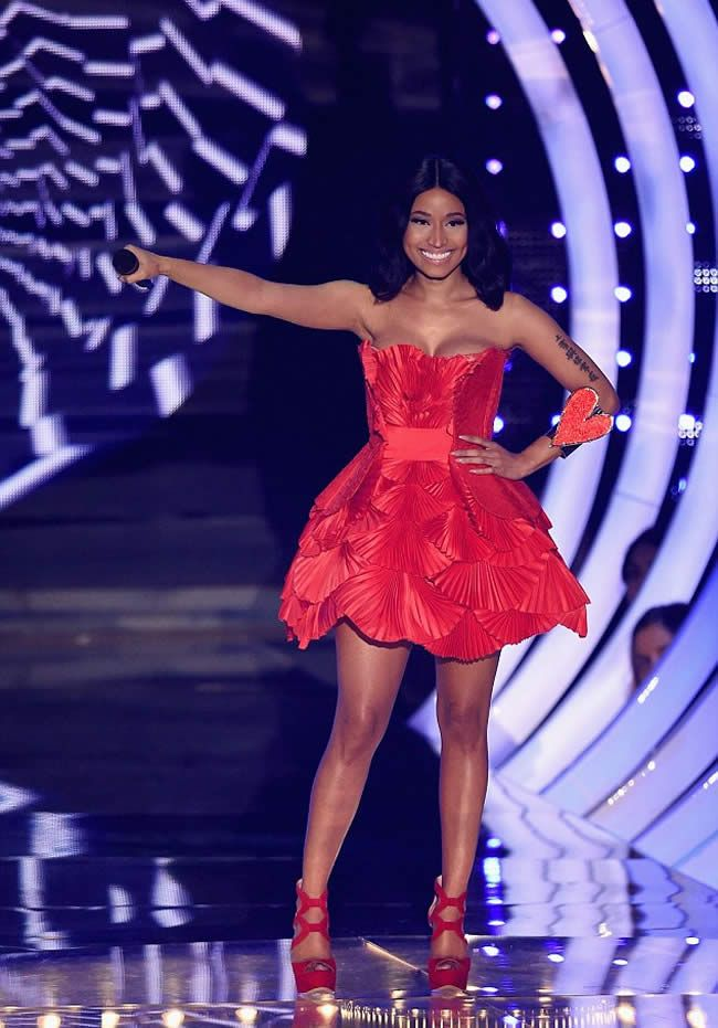 MTV EMAs 2014: Host Nicki Minaj makes EIGHT Outfit Changes
