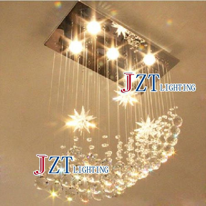 161.19$  Watch here - http://alihei.worldwells.pw/go.php?t=1000001544777 - M Best Price Modern LED Crystal Lamp Large Chandelier Lighting Lustre Rectangular Ceiling Light