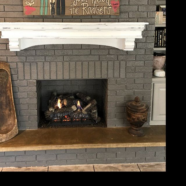 Vintage Mantle French Country Mantle With Corbels Fireplace
