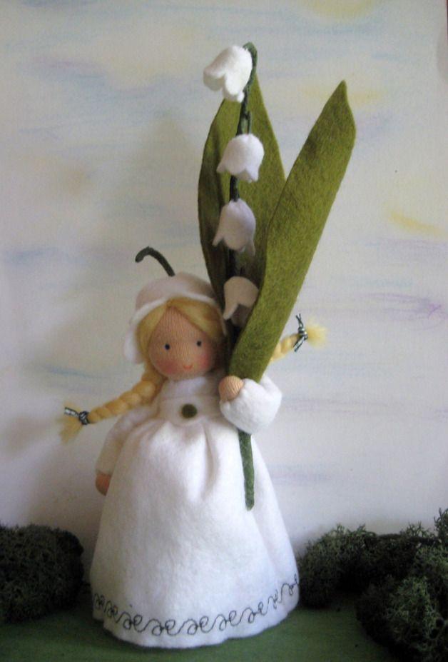 Deko-Objekte - Blumenkind-Maiglöckchen für den Waldorf-Jah... - ein Designerstück von Blumenkinder-Unikate bei DaWanda