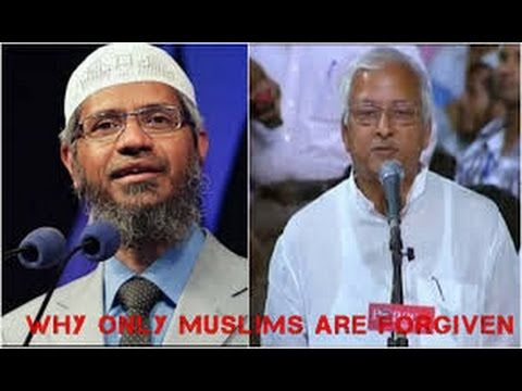 Dr Zakir Naik~ Why GOD Only Forgive Muslims on Day Of Judgement Excellen...