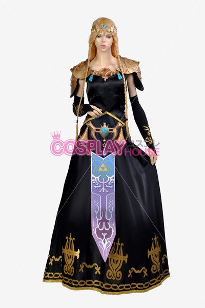 Legend of Zelda: Twilight Princess -- Zelda Cosplay Costume $341.28