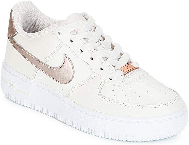 Nike Air Force 1 (GS), Chaussures de Basketball Fille, Multicolore ...