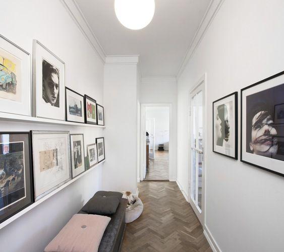 hallway gallery, floor + cushions | photo: Lars Kaslov