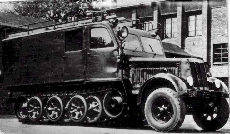 Potsdam Fire Department half-track 1941-1964