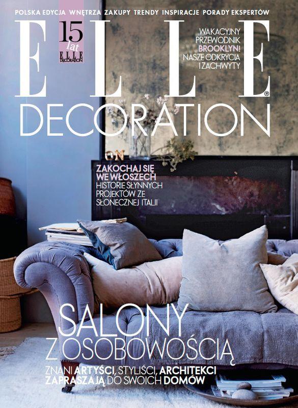 15 urodziny ELLE Decoration - najpiękniejsze okładki magazynu