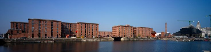 The Albert Dock Liverpool.
