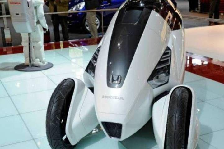 Honda mostrou um desenho ousado no modelo 3R-C