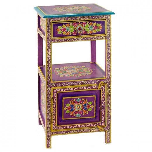 Decoración Hindú : Para los amantes de la decoración exótica, los colores fuertes y los ambientes con carácter aquí te traigo la nueva colección de Alambra Vip, muebles de la