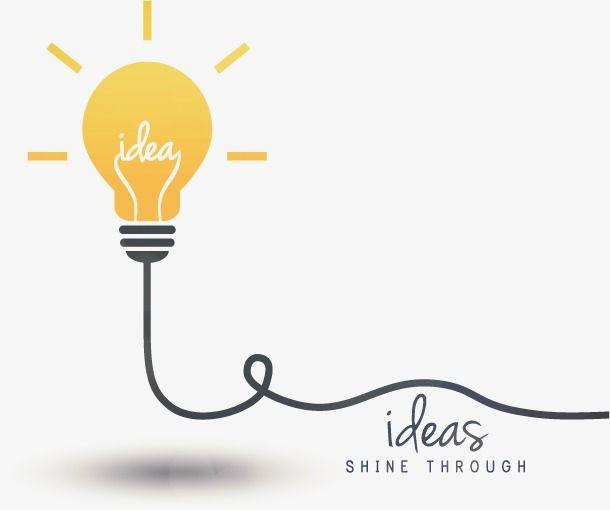 Ideia De Bulbo De Vetor Pensei Ideia Lampada Png E Vetor Para Download Gratuito Light Bulb Icon Lamp Logo Bulb