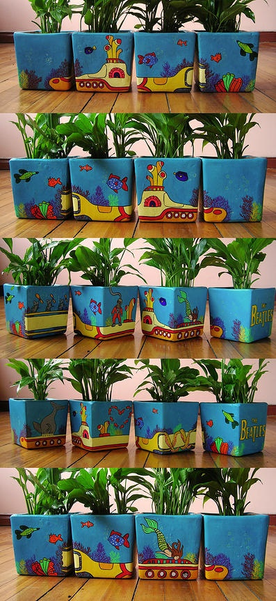 ¿Recuerdas a Yellow Submarine? #Ideas