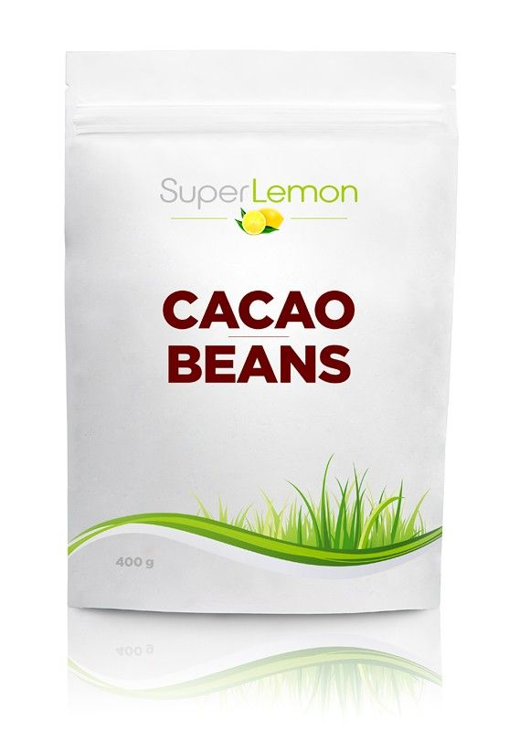 SuperLemon.fi | Tuotemerkit | SuperLemon | SuperLemon Cacao Beans 400 g | Suomen edullisimmat raakakaakaopavut