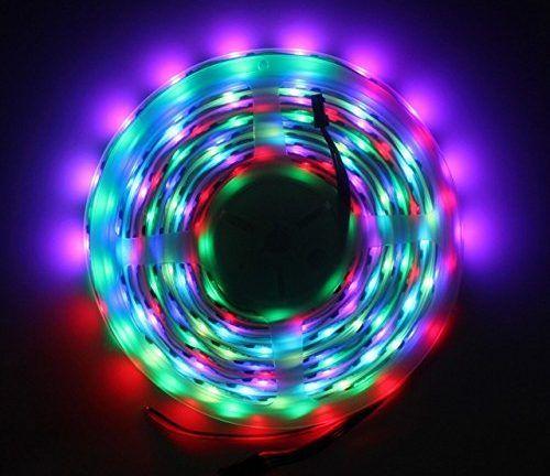 Raspberry Pi WS2801B RGB LED Streifen anschließen und steuern
