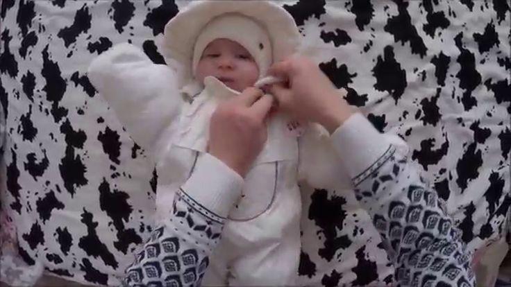 Супер детки. Как одевать ребенка зимой на улицу.
